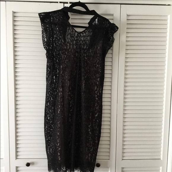 8af30d13ca Black lace overlay dress. NWT. Bar III